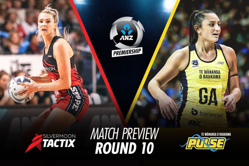 MATCH PREVIEW: (Round 10)  TACTIX v PULSE
