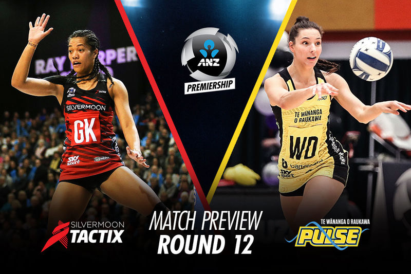 MATCH PREVIEW: (Round 12) TACTIX v PULSE