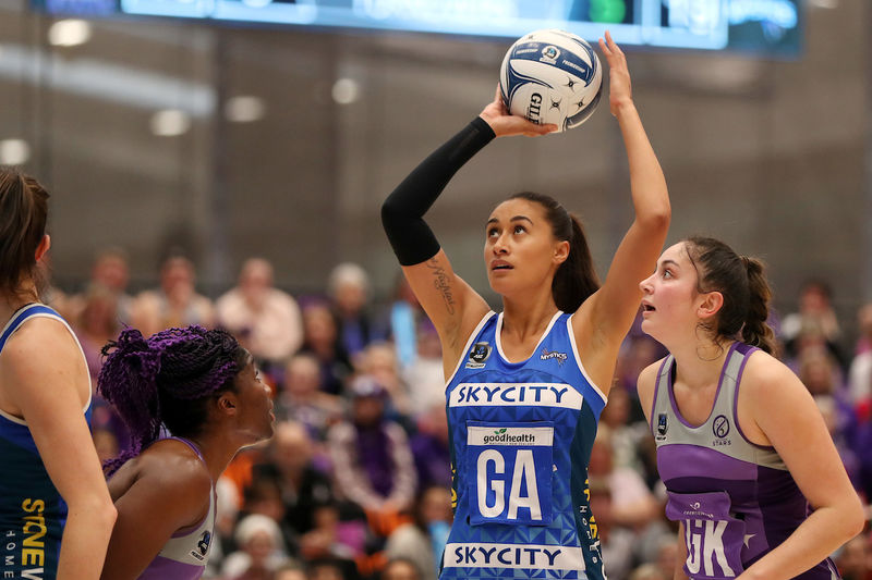 Maria Folau calls time with Mystics