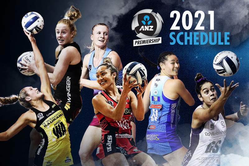 2021 ANZ Premiership schedule announced