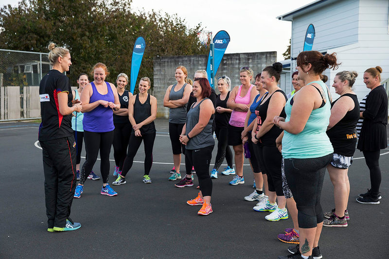 Casey Kopua inspires fellow Netball playing mums